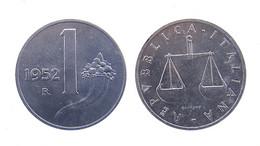 "!!! 1 LIRA 1952 "" CORNUCOPIA "" !!! - 1 Lira"