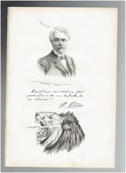 JEAN LEON GEROME 1824 VESOUL 1904 PARIS PEINTRE SCULPTEUR PORTRAIT AUTOGRAPHE BIOGRAPHIE ALBUM MARIANI - Documenti Storici