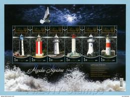 2009 Ukraine. Lighthouses Of Ukraine. - Ukraine