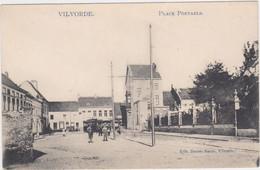 Vilvoorde - Portaelsplaats (Decrée) (met Tram In Stadsbeeld)(gelopen Kaart Zonder Zegel) - Vilvoorde