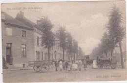 Vilvoorde - Stationstraat (Allecourt) (gelopen En Geanimeerde Kaart Met Zegel) - Vilvoorde
