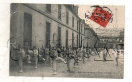 Paris 7 ème Arr (75) : Exercice De Boxe à L'École Militaire 1 Place Joffre En 1908 (animé) PF. - District 07
