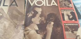 VOILA 40/ /PATINAGE MORVAN LEBESQUE /CHINE WANG CHING WEI/ EMILIENNE D ALENCON DOMERGUE - 1900 - 1949