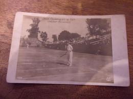 LAW TENNIS / CARTE PHOTO JEUX OLYMPIQUES DE 1924 VINCENT RICHARDS - Tennis