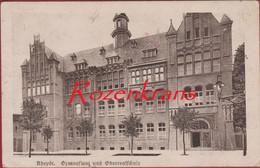 RHEYDT - Gymnasium Und Oberrealschule Nordrhein-Westfalen ALLEMAGNE - Deutschland AK CPA Legerposterij 1923 - Other