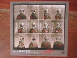 Bloc Feuillet Annee 2020 , Felix Nadar  . F 5392 - Sin Clasificación