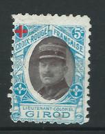 VIGNETTES DELANDRE Aviation Croix Rouge Avion Guerre WWI WW1 Cinderellas Poster Stamps 1914 1918 - Croix Rouge