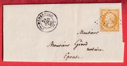 N°13 PC 3123 STE MENEHOULD MARNE POUR EPENSE - 1849-1876: Klassieke Periode