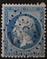 22 Obl GC 1989 Lavaur (77 Tarn ) Ind 3 ; Frappe Très Nette & TB Centrée - 1849-1876: Klassik