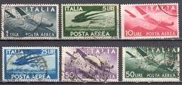 Italy 1945 - Michel 706-14 - 6v - Used Gestempelt - Usados