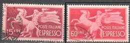 Italy 1947 - Michel 717,20 - Used Gestempelt - Usados