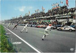 CPM: Les 24 Heures Du MANS: Le Départ - 9 Artaud - Le Mans
