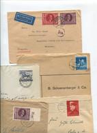 8640) 10 Belege Gesamtdeutschland - Machine Stamps (ATM)
