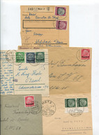 1687) 10 Belege Gesamtdeutschland - Machine Stamps (ATM)