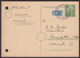 Karte Ganzsache 1955 Landpost Hornheide über Münster Westfalen 2    (24426 - Sin Clasificación