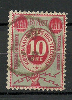 DENMARK Dänemark Ca 1880 KIOBENHAVN Lokalpost Local City Post Stadtpost O - Local Post Stamps