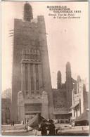 5IP 517 CPA - MARSEILLE - EXPOSITION COLONIALE 1922 - GRANDE TOUR DU PALAIS DE L'AFRIQUE OCIDENTALE - Colonial Exhibitions 1906 - 1922