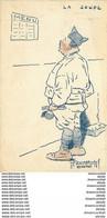 WW HUMOUR MILITAIRE Par Dumotel à Saint Maixent. La Soupe Du Poilus 1918 Carte Assez Rare... - Humorísticas