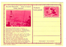 """48545 - Illustration """"visitez  L'Autriche"""" - Entiers Postaux"""