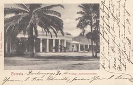Ned. Indie 1900: Post Card Batavia To Kassel, Woning Legercommandant - Indonesië