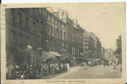 PARIS- PARIS-QUARTIERS-  Rue De Bretagne - District 03