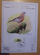 A.Buzin A4 Kaart 10 Jaar SPAB. Vlaamse Gaai Genummerd 141/600 - 1985-.. Birds (Buzin)