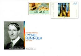 01817) BRD - USo ? - ✶ # - 25 Neben 55 C    Lyonel Feininger, Ausgabe: 01.07.2021 - Covers - Mint