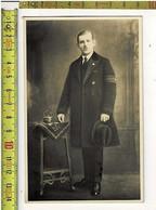 57800 - PHOTO PRISONIER DE GUERRE - FOTO KRIJGSGEVANGENE 1914-1918 - War, Military