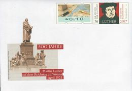 07903) BRD - USo ? - ✶ # - 10 Neben 70 C    500 Jahre Martin Luther, Ausgabe: 01.04.2021 - Covers - Mint