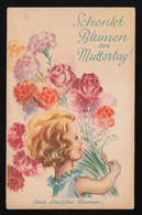 Schenkt Blumen Am Muttertag! Aber Deutsche Blumen! Kind Strauß, Ungebraucht - Andere