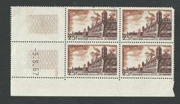 Brouage N° 1042 ,coin Daté Du 5 8 1957 ** - 1950-1959