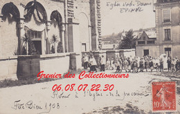 EPINAL : (88)  CARTE PHOTO Fête Dieu à Notre Dame 1908  Cpa  INCONNUE - Epinal