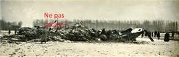 PHOTO FRANCAISE - LE ZEPPELIN LZ77 ABATTU A BRABANT LE ROI PRES DE REVIGNY SUR ORNAIN MEUSE 1916 - GUERRE 1914 - 1918 - 1914-18