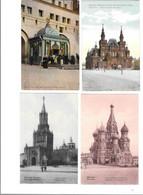 12265- Lot De 4 CPA De RUSSIE, - Rusia