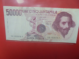 ITALIE 50.000 LIRE 1984 Circuler - 50000 Liras