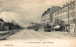 N°85378 -cpa Grand Montrouge -route D'Orléans- - Montrouge