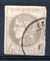 YT N° 41B (C.à D. 17) - Cote: 400,00 € - 1870 Emission De Bordeaux