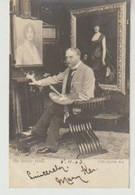Luke FILDES Peintre (1843 - 1927) Dans Son Atelier  (1903)  Raphaël Tuck éditeur - Peintures & Tableaux