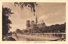 75-PARIS L EGLISE NOTRE DAME-N°4225-H/0077 - Notre Dame Von Paris