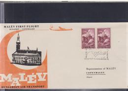 Ungarn Michel Cat.No. FFC 1958 Budapest - Copenhagen - Brieven En Documenten