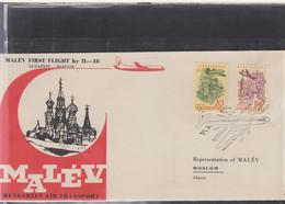 Ungarn Michel Cat.No. FFC 1960 Budapest - Moscow - Brieven En Documenten