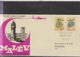 Ungarn Michel Cat.No. FFC 1960 Budapest - Frankfurt - Brieven En Documenten