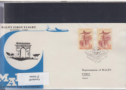 Ungarn Michel Cat.No. FFC 1960 Budapest - Paris - Brieven En Documenten