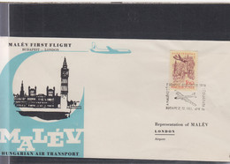Ungarn Michel Cat.No. FFC 1961 Budapest - London - Brieven En Documenten