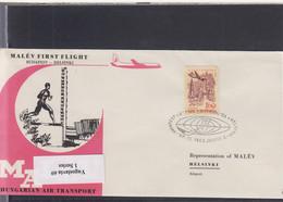 Ungarn Michel Cat.No. FFC 1962 Budapest - Helsinki - Brieven En Documenten