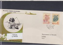 Ungarn Michel Cat.No. FFC 1962 Budapest - Cairo - Brieven En Documenten