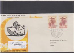 Ungarn Michel Cat.No. FFC 1963 Budapest - Zürich - Brieven En Documenten