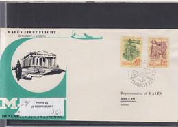 Ungarn Michel Cat.No. FFC 1965 Budapest - Athen - Brieven En Documenten