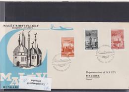 Ungarn Michel Cat.No. FFC 1967 Budapest - Istambul - Brieven En Documenten