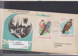 Ungarn Michel Cat.No. FFC 1968 Budapest - Luxemburg - Brieven En Documenten